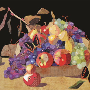 Butterfly & Grapes
